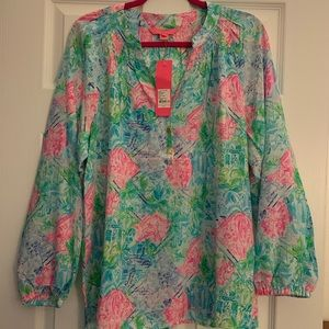 Lilly Pulitzer bohemian queen Elsa large NWT